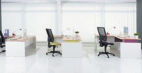 Ergonomia Scrivania Ufficio : Mobili da ufficio manutan italia