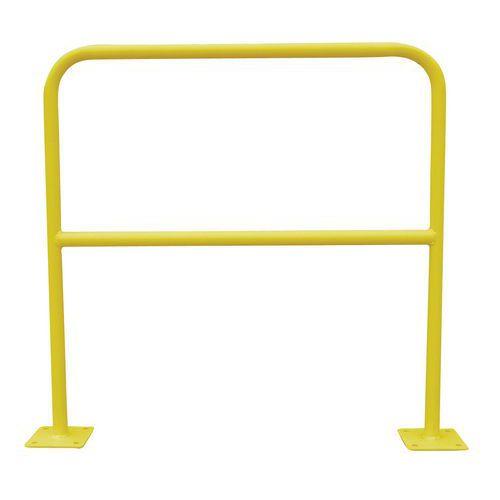 Barriera di protezione - Fissaggio con asse avvitato e mozzo liscio