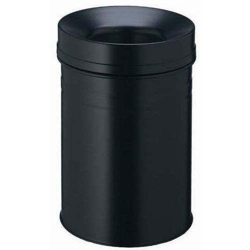 Pattumiera in metallo ignifugo - 15 L