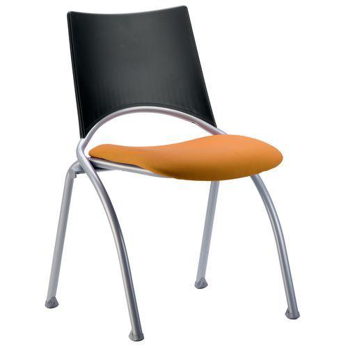 Sedia Sit-@ - In tessuto - Struttura in alluminio