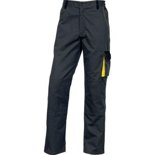 Pantaloni da lavoro D-MACH grigio - giallo