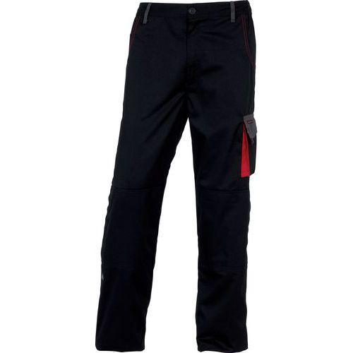 Pantaloni da lavoro Mach2 - Nero/rosso