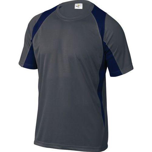 T-shirt da lavoro Bali - Grigio/blu mare