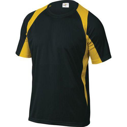 T-shirt da lavoro Bali - Nero/giallo