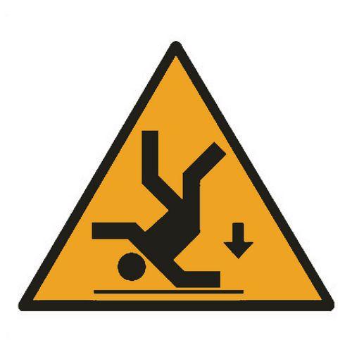 Cartello di pericolo pericolo di caduta manutan italia for Alto pericolo il tuo account e stato attaccato