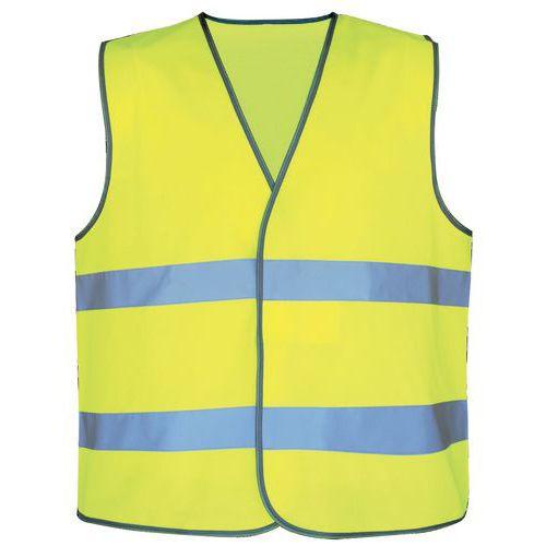 Gilet di sicurezza ad alta visibilità - Giallo