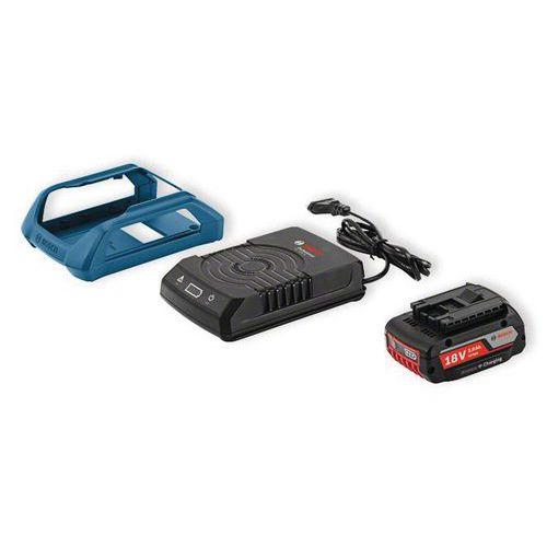 2 batterie Bosch GBA 18 V 2 Ah + caricabatteria GAL 1830 W
