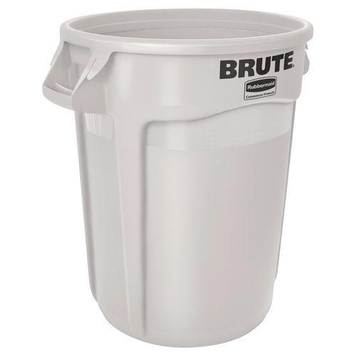 Contenitore rotondo Brute - Bianco - da 38 a 167 L