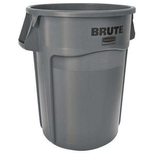 Contenitore rotondo Brute - Grigio - da 38 a 208 L