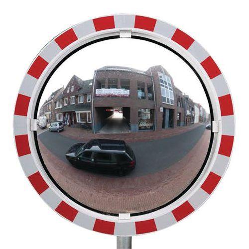 Specchio di sicurezza antiappannamento - Via privata - 180°