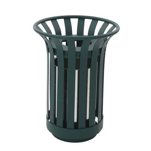 Contenitore per rifiuti da esterno da 23 litri