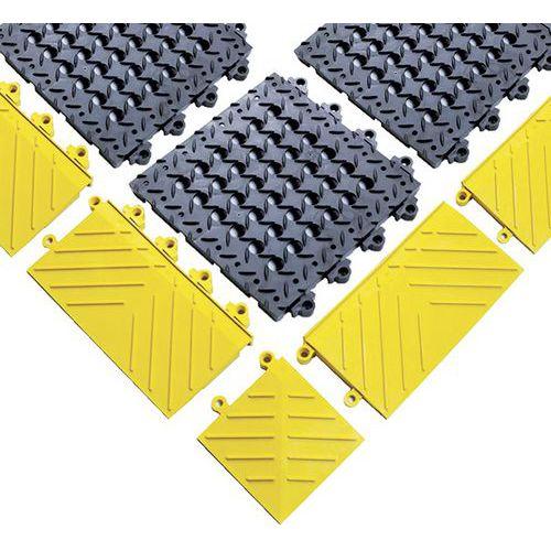 Bordo per griglia antifatica Diamond Flek Lok™ - Notrax