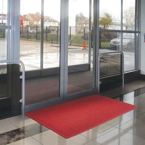 Tappeto d 39 ingresso con perimetro brevettato aqua dam - Tappeto ingresso ...