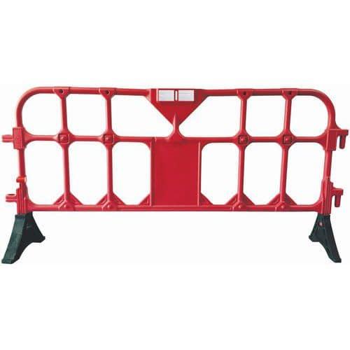 Barriera in plastica con piedi - Manutan