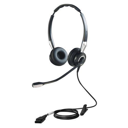 Cuffia con microfono Biz 2400 II Duo Jabra
