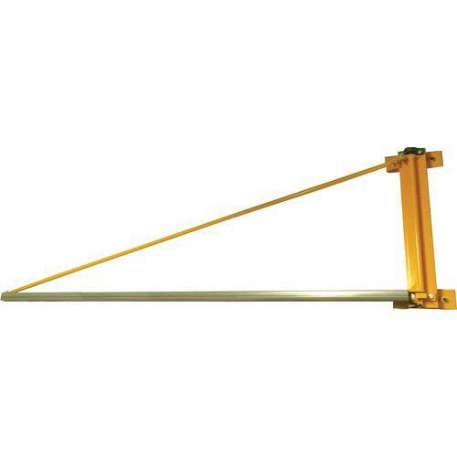 Gru girevole a braccio triangolare da parete - Portata da 20 a 100 kg