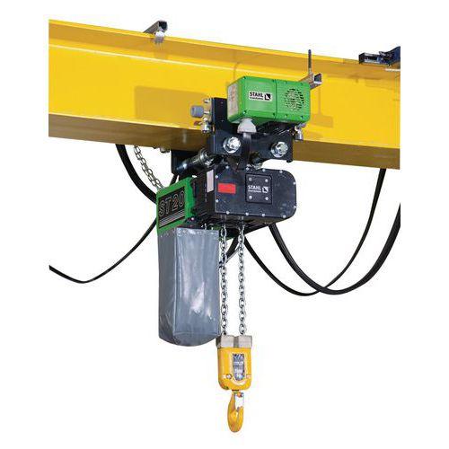 Paranco elettrico con carrello elettrico - Portata da 1000 a 5000 kg - Stahl CraneSystems