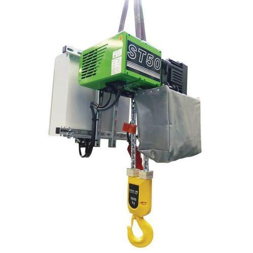 Paranco elettrico con gancio - Portata da 1000 a 5000 kg - Stahl CraneSystems