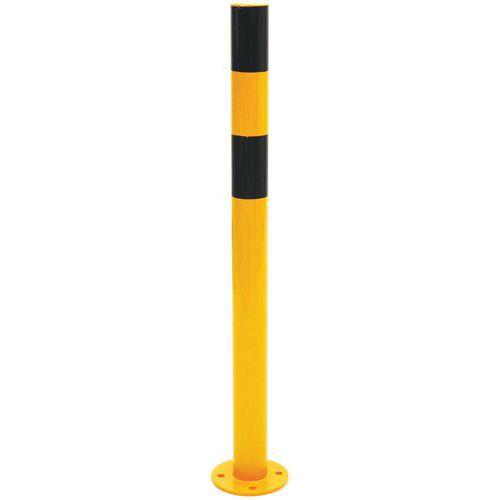 Paletto di protezione nero/giallo - Manutan