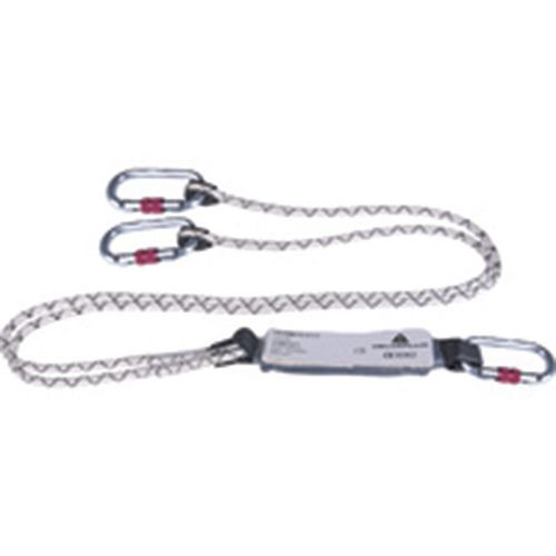 Assorbitore di energia con corda doppia 1,5 m + 3 am002