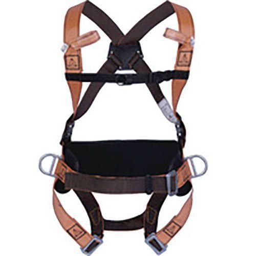 Imbracatura anticaduta con cintura - 4 punti d'ancoraggio