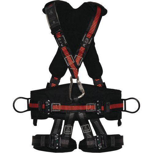 Imbracatura anticaduta con schiena - 5 punti d'ancoraggio