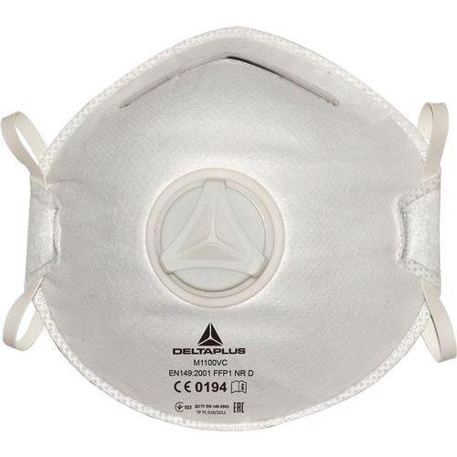 Scatola 10 mascherine monouso FFP1 con valvola