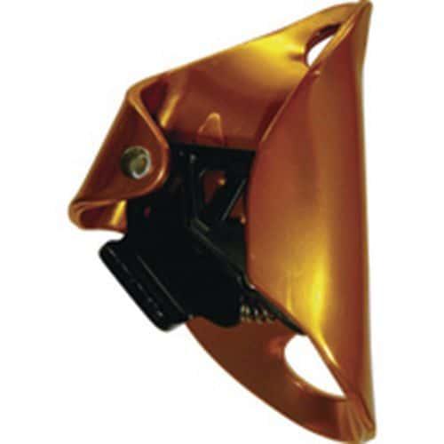 Dispositivo di bloccaggio ventrale di alluminio