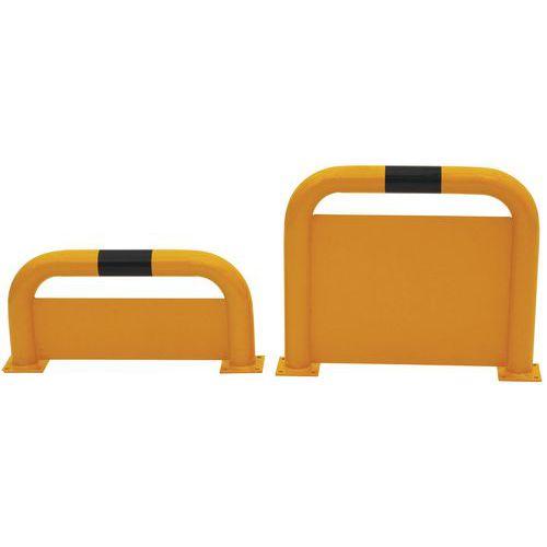 Barriera di protezione ad arco con piastra anti-incasso - Manutan
