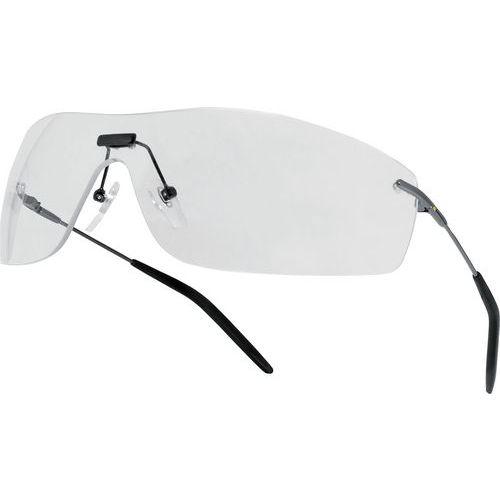 Occhiali policarbonato monoblocco incolore ultra leggeri - uv400