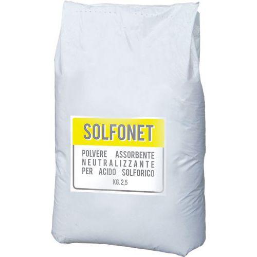 Assorbente per acido solforico Solfonet