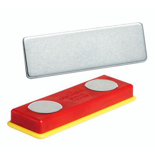 Magnete per badge in plastica