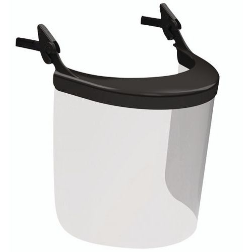 Porta-visiera e visiera per casco Evolite