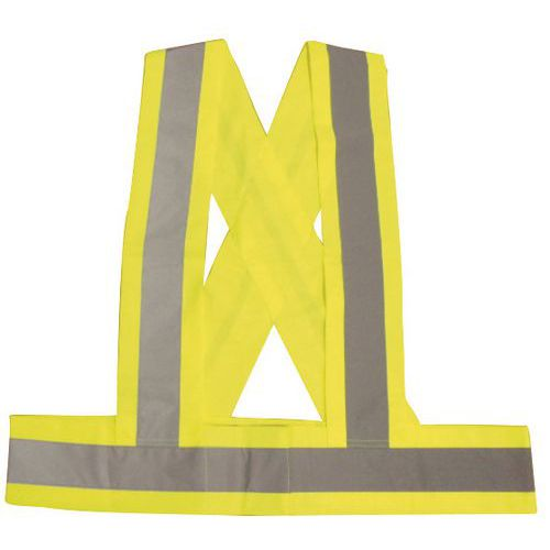 Bretelle ad alta visibilità - Manutan