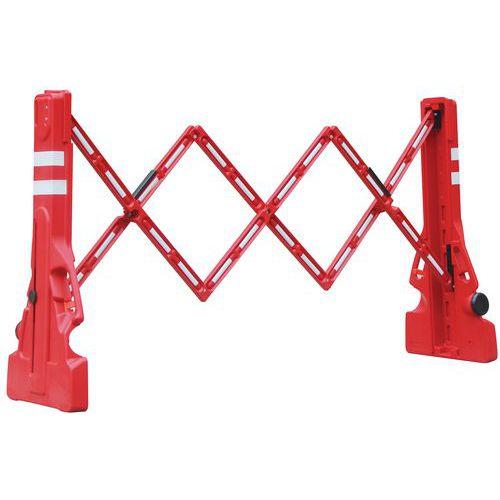 Barriere da cantiere estensibile - Manutan