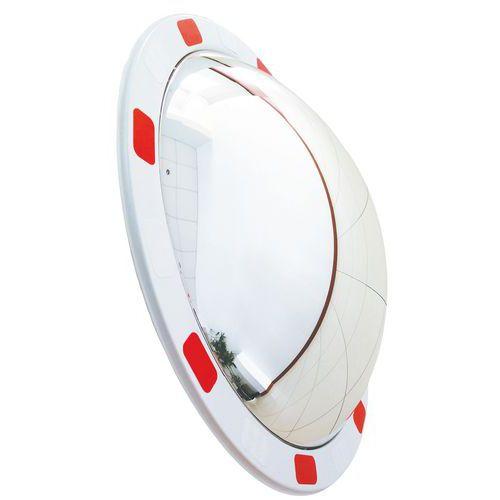 Specchio di sicurezza - Strada privata - Visibilità a 130° - Manutan