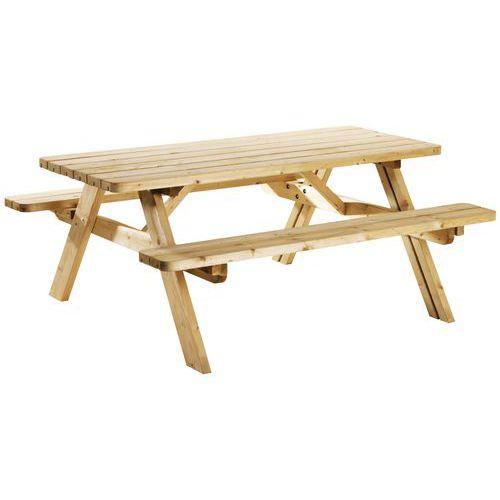 Tavolo per picnic pieghevole ecologico - Pino