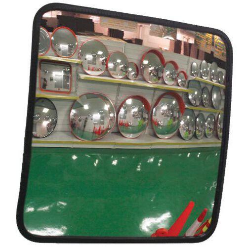 Specchio di sicurezza rettangolare - Manutan