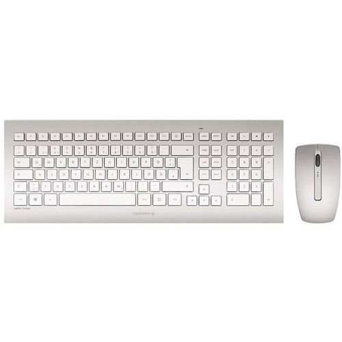 Set tastiera - mouse CHERRY DW 8000 argento QWERTY