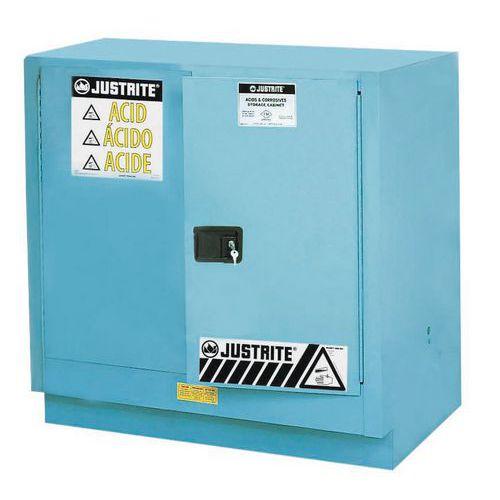 Armadio di sicurezza per prodotti corrosivi - Capacità di stoccaggio 83 litri
