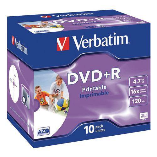 DVD-R Azo 16X - lotto da 10 Verbatim