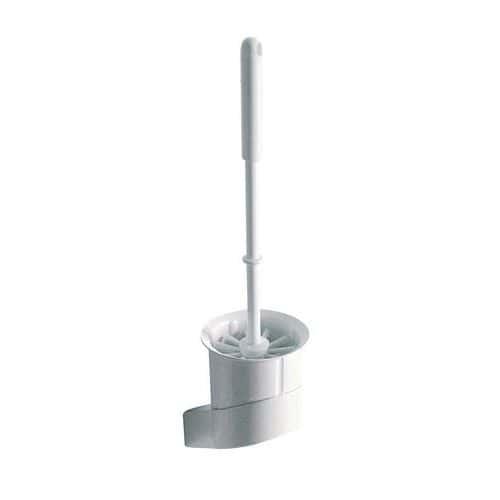 Portascopino per WC da parete