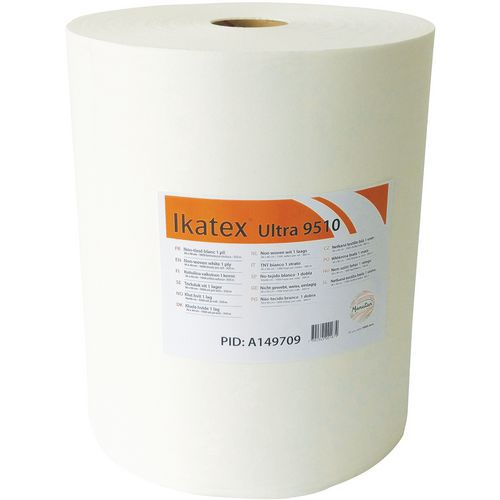 Rotolo di panni in tessuto non tessuto bianco 1 velo - Ikatex