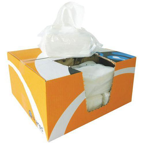 Panno in tessuto non tessuto Ikatex - Scatola di distribuzione di pacchetti - 500 panni
