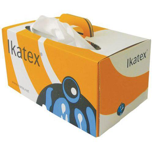 Panno in tessuto non tessuto Ikatex - Scatola di dispenser a fogli singoli - 200 panni