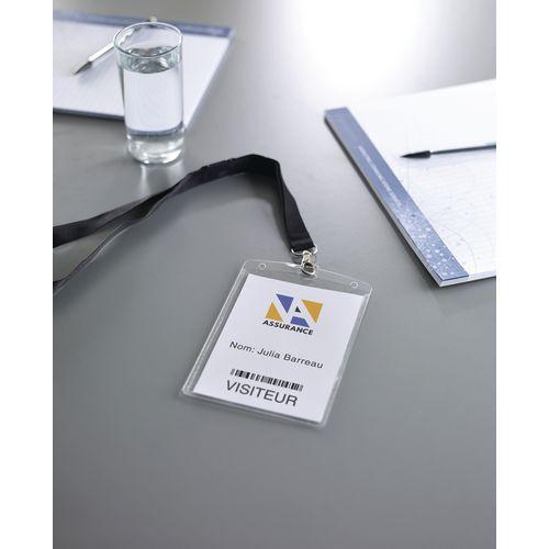 Porta Badge Da Parete.Custodie Porta Badge A6 Con Fogli E Lacci