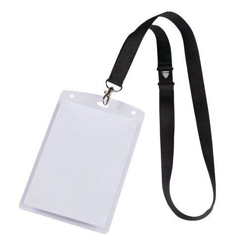 Custodie porta badge A6 con fogli e lacci