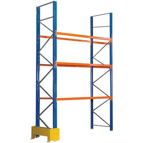 Scaffalatura per pallet Easy-Rack - Finitura epossidica - Manorga