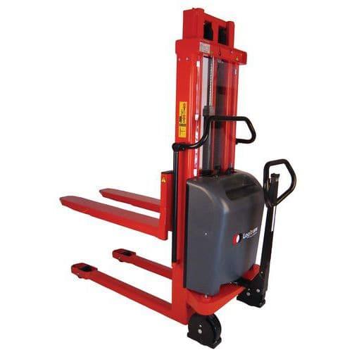 Carrello elevatore ergonomico semi elettrico Logitrans Capacità 1000 kg