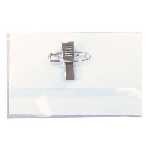 Badge con spilla - Manutan